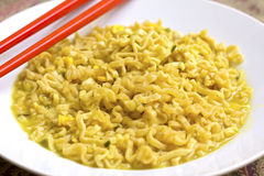 Noodles dish Royalty Free Stock Images