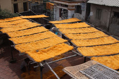 Noodles Drying - 03 Royalty Free Stock Photography