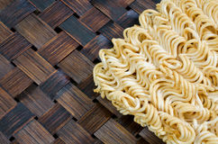 Noodles of fast preparation Royalty Free Stock Photography