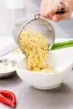 noodles gotowy Zdjęcie Royalty Free