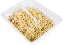 Noodles instant Royalty Free Stock Image