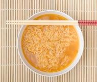noodles natychmiastowi Zdjęcie Royalty Free