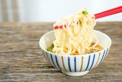 noodles natychmiastowy Fotografia Stock