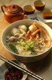noodles owoce morza Obraz Royalty Free