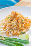 Noodles pad Thai Royalty Free Stock Photos