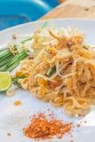 Noodles pad Thai Stock Image