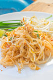Noodles pad Thai Royalty Free Stock Images