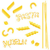 Noodles, pasta Royalty Free Stock Images