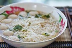 Free Noodles, Pork Balls. Stock Photos - 24452413