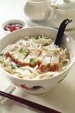 noodles roast χοιρινού κρέατος Στοκ εικόνα με δικαίωμα ελεύθερης χρήσης