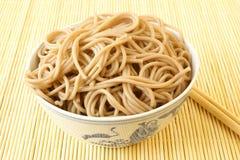 noodles soba Στοκ Εικόνες