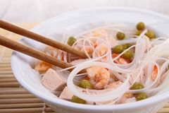 Noodles soup Royalty Free Stock Photography
