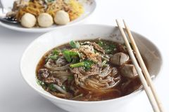 Noodles soup Stock Image