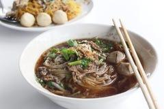 Noodles soup Stock Image