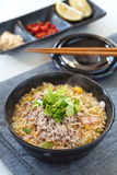 Noodles spicy soup Royalty Free Stock Photo