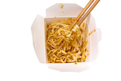 Noodles Takeaway Royalty Free Stock Photography