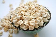 Noodles of tofu Stock Photography
