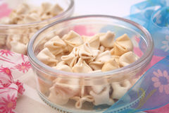 Noodles with tofu Royalty Free Stock Images