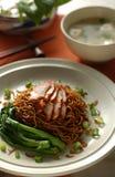 noodles tona blada Zdjęcie Stock
