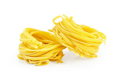 Noodles twisted Stock Photo