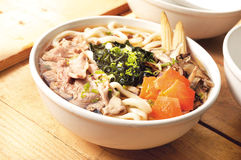 Noodles udon japanese food Royalty Free Stock Photos
