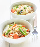 Noodles with vegetable Royalty Free Stock Image