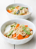 Noodles with vegetable Stock Photography