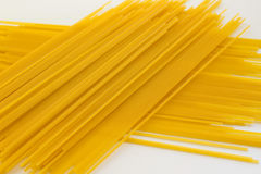 Noodles on a white background Royalty Free Stock Photos
