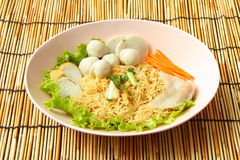 Free Noodles With Fish Ball Stock Image - 47204901