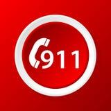noodsituatie 911 royalty-vrije illustratie