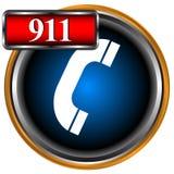 noodsituatie 911 vector illustratie