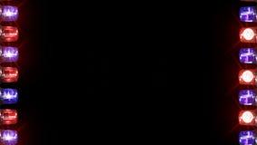 Noodsituatie licht kader stock videobeelden