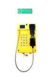 Noodsituatietelefoon Stock Afbeeldingen