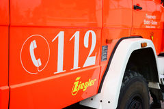 112 noodsituatietelefoonnummer Europa Royalty-vrije Stock Fotografie