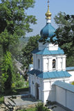 The nook of monastery. The nook of Svyatogorsk monastery in the Donetsk region in Ukraine stock photo
