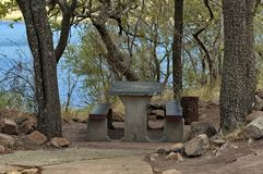 Nook for repose in Pilanesberg National Park Royalty Free Stock Photo