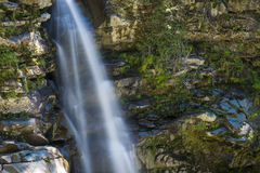Nooksack cade nella gamma della cascata, Stato del Washington Fotografia Stock