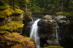 Nooksack Falls. Royalty Free Stock Photos