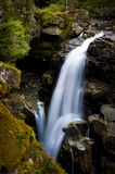 Nooksack Falls. Located in the Mt. Baker National Forest, Washington State. The Nooksack River flows through a Pacific Northwest rain forest environment Stock Photos
