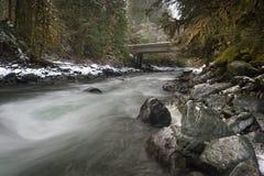 Nooksack-Fluss Lizenzfreie Stockfotos