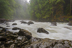 Nooksack River. Royalty Free Stock Photo