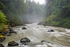 Nooksack River. Stock Image