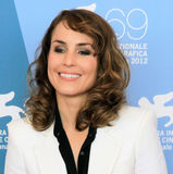 Noomi Rapace. Smiling to photographers at 69th Venice Film Festival on September 8, 2012 in Venice, Italy Stock Photography