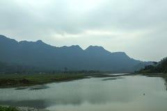 Noong jezioro obrazy royalty free