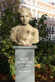 Noor Inayat Khan statue in Gordon Square Garden Stock Images