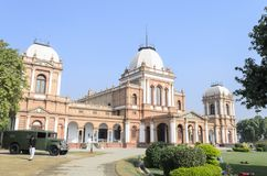 Noor Mahal in Bahawalpur Pakistan. Daytime view of Noor Mahal in Bahawalpur Pakistan Royalty Free Stock Image