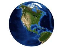 Noord-Amerika Stock Afbeelding