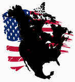 Noord-Amerika Royalty-vrije Stock Afbeeldingen