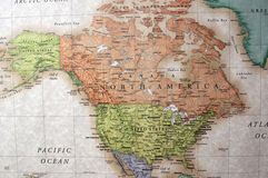 Noord-Amerika Stock Fotografie