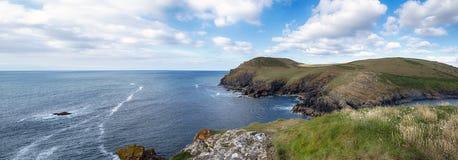 Noord-Cornwall Kust royalty-vrije stock afbeeldingen